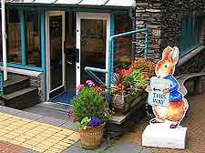 Further image of the entrance to the World of Beatrix Potter