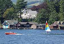 Photograph of summer water sports on Lake Windermere