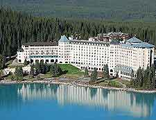 Aerial photograph of the Fairmont Hotel