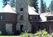 Photo of the Sugar Pine Point State Park's Hellman Ehrman Mansion