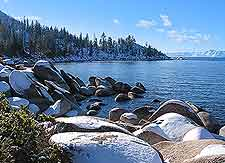 Scenic picture of Lake Tahoe