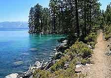 image of shoreline trail