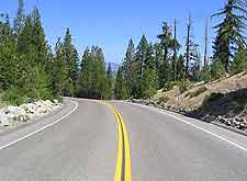 Image of road and surrounding scenery