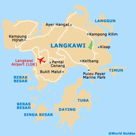 Small Langkawi Map
