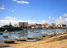 Picture of Lanzarote's Arrecife harbour