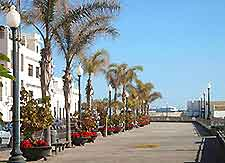 Photograph of hotels in the Arrecife area of Lanzarote's