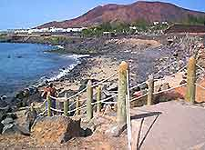 Further view of Lanzarote coast