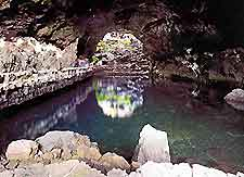 Image of Cueva de los Verdes on the northern side of Lanzarote