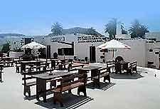 Photo of al fresco dining area in Lanzarote