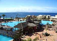 View of dining in Lanzarote