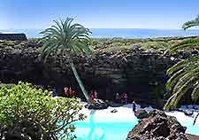 View of Lanzarote's Los Jameos del Agua (Water Caverns)