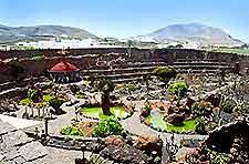 Further picture of the Jardin de los Cactus in Lanzarote