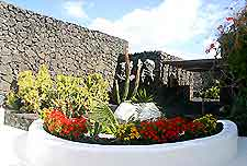 Further images of the Cesar Manrique Foundation grounds in Lanzarote