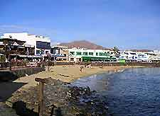 Playa Blanca Beach, Lanzarote view
