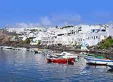Image of the waterfront of Puerto del Carmen, Lanzarote
