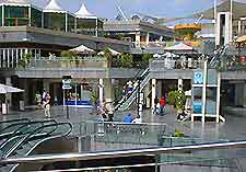 Picture of Lanzarote's Puerto del Carmen shopping district