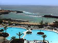 View from a Lanzarote hotel