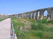 Picture of historic aqueduct
