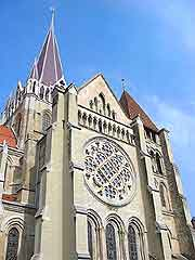 Photo of the Vieille Ville district's cathedral
