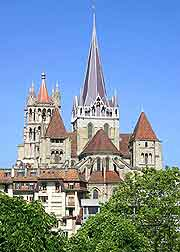 Picture of the cathedral (Cathedrale de Notre Dame)