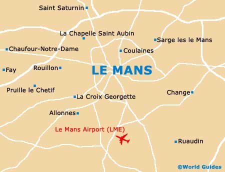 Small Le Mans Map