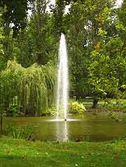 Photo of fountain at the Jardin des Plantes