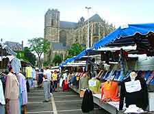 Photo of local market near the cathedral