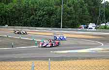 Picture of the 24 Hour race from Mulsanne Corner
