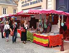 Photo of Saturday market in the city centre
