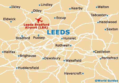 Small Leeds Map