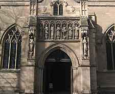 Leicester Cathedral entrance photograph