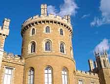 Close-up picture of Belvoir Castle