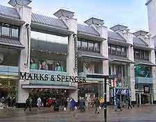 City centre department store photo