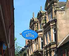 Picture of 'The Lanes' area