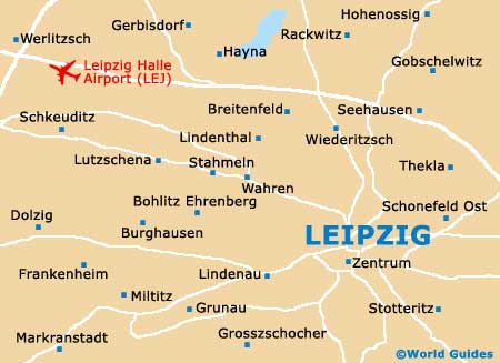 Small Leipzig Map
