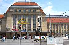 Leipzig Airport (LEJ) Airlines, Terminals and Facilities: Picture of the main train station (Hauptbahnhof)