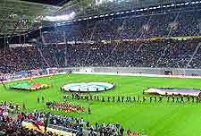 Picture of Leipzig's stadium