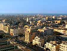 Aerial image of Benghazi's Old Town