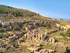 Image showing the ruins of the ancient city of Cyrene