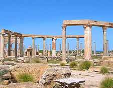 Leptis Magna Historic Site photograph