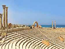 Amphitheatre image at the Leptis Magna Historic Site