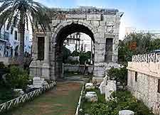 Arch of Marcus Aurelius photograph