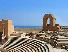 Sabratha image of ancient amphitheatre