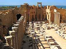 Picture of basilica remains at Sabratha