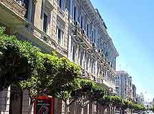 Istiqlal Street photograph taken in Tripoli, off Shuhada Square