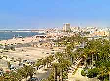 Al-Kabir Hotel view of Tripoli