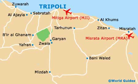 Libya Maps and Orientation: Libya, North Africa