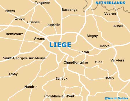 Small Liege Map