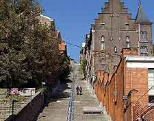 Picture showing the famous Montagne de Bueren