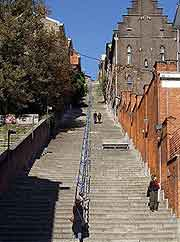 Photo of the Mountain of Bueren staircase (Montagne de Bueren)